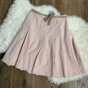 [GAP] Pleated Denim Skirt